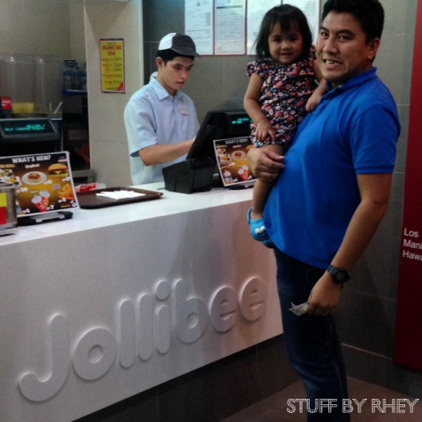 Ready to order at Jollibee Doha