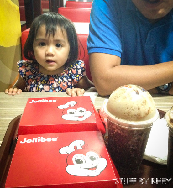 Aria and jollibee