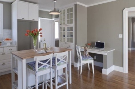 Natures gray kitchen by Pure Home