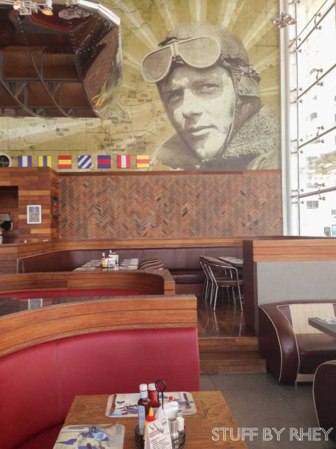 Interiors of Roger's Diner