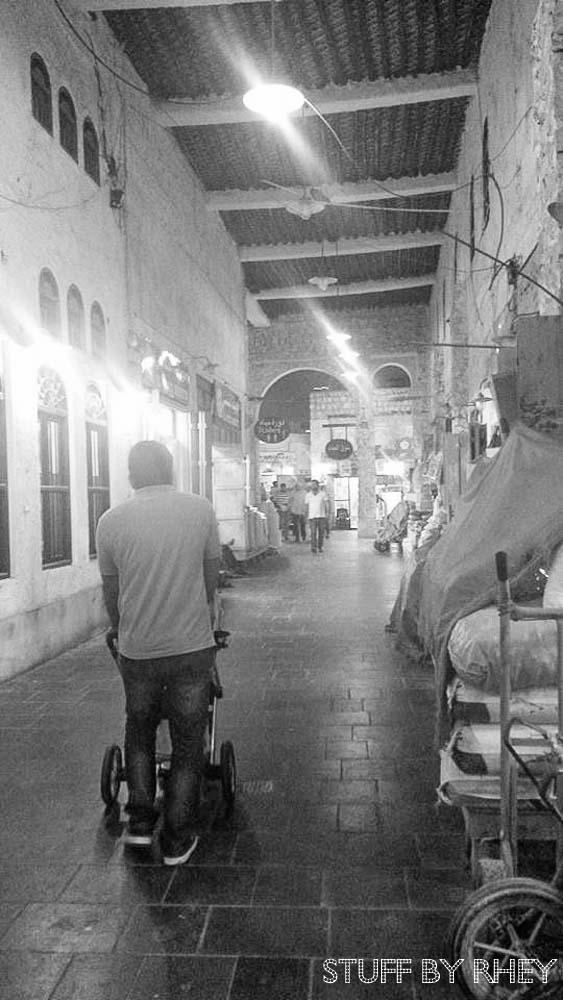 Souq waqif corridors