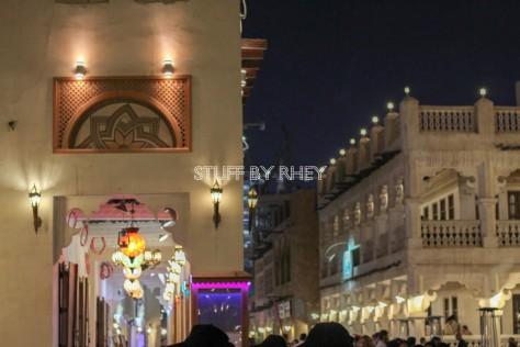 Souq Waqif at night