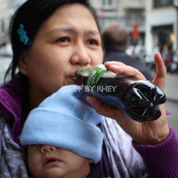 Coca Cola life in Brussels