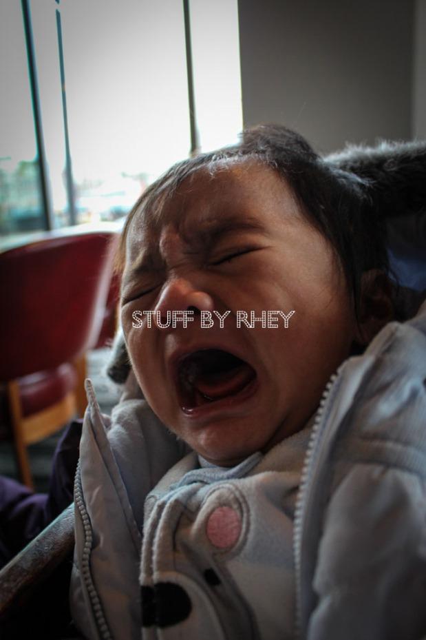 Baby bear crying