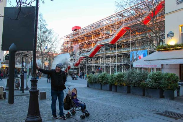at the George Pompidou center