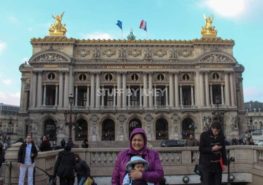 The Opéra national de Paris