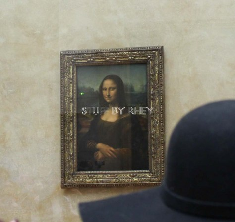 mona lisa at the louvre paris 2015