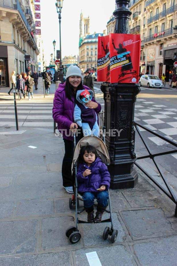 Taking a stroll around Rue De Rivoli