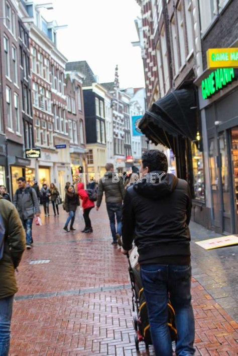 Amsterdam's shopping streets