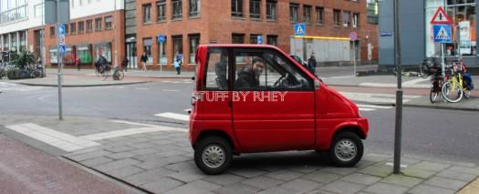 mini car in Amsterdam