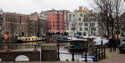 The beautiful buildings of Amsterdam