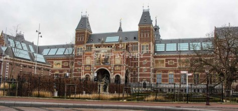 The Rijk's Museum in Amsterdam