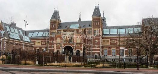 The Rijk's Museum in Amsterdam