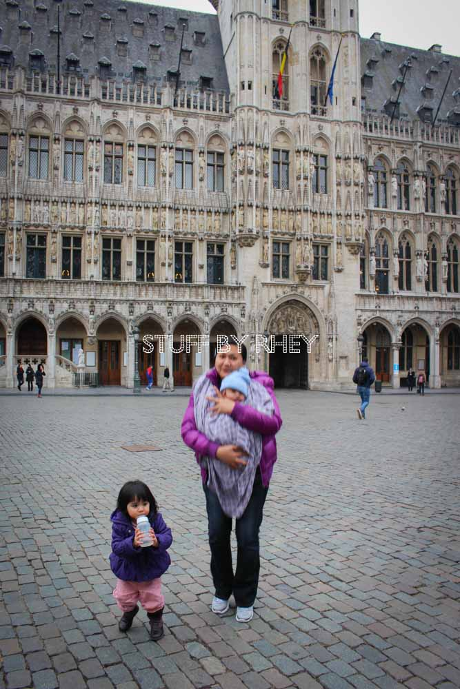 at the Grote Markt, Brussels Belgium
