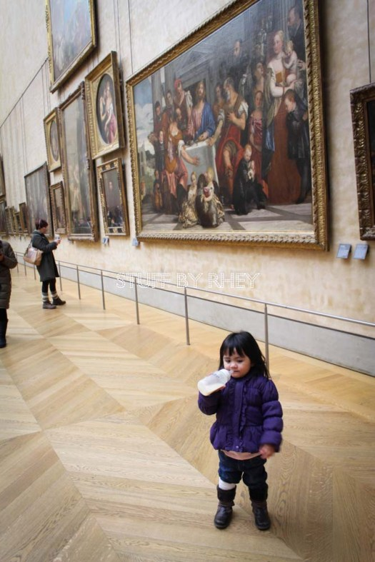 Aria at the Louvre