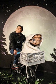 ET at Madame Tussaud's Amsterdam