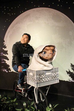 ET at Madame Tussaud's Amsterdam