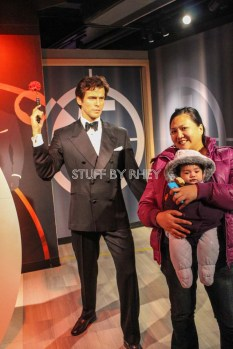 Pierce Brosnan at Madame Tussaud's Amsterdam