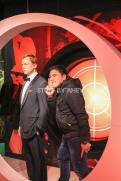 with Daniel Craig at Madame Tussaud's Amsterdam