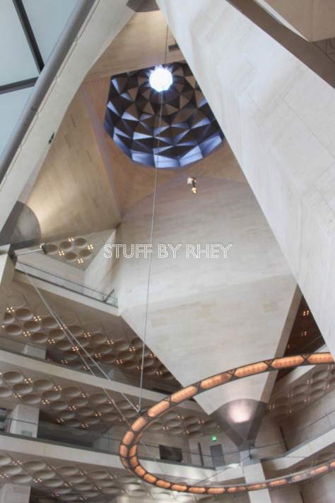 The Atrium of the Museum of Islamic Art Doha