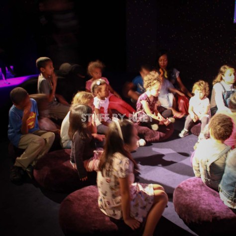 More kids at the story time in Museum of Islamic Art Doha